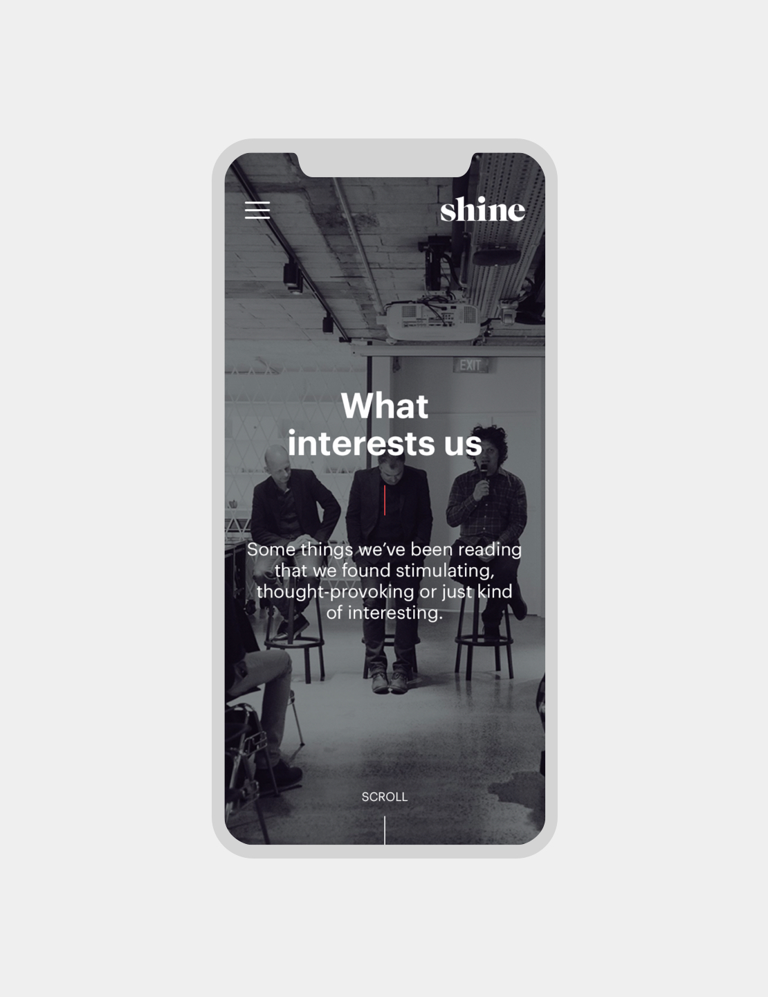 What Interests Us Mobile
